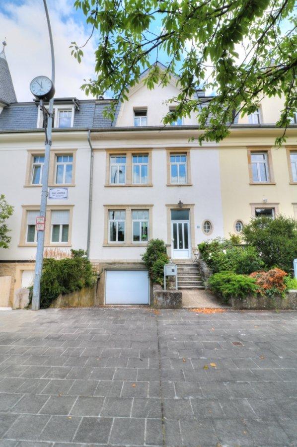 Maison individuelle à louer 6 chambres à Luxembourg-Belair