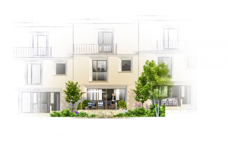 Maison à vendre 3 chambres à Luxembourg-Cessange