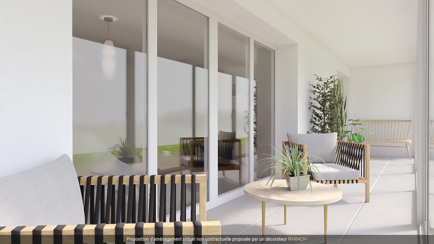 acheter appartement 2 pièces 47.34 m² metz photo 2