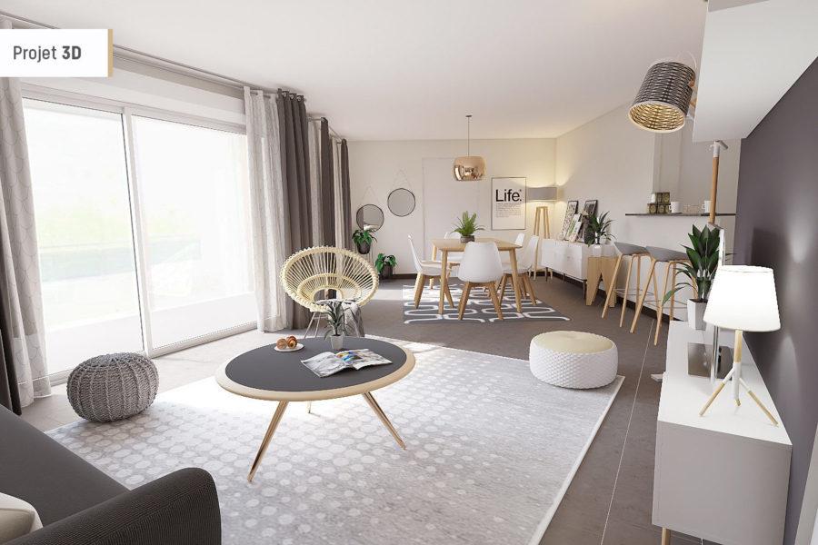 acheter appartement 2 pièces 47.34 m² metz photo 1