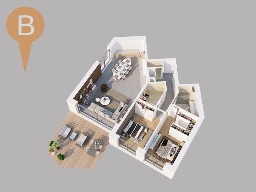 acheter appartement 2 chambres 164.57 m² hostert (niederanven) photo 2