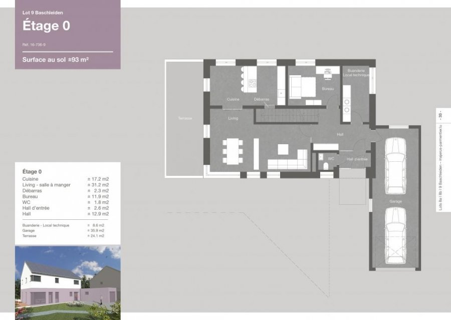 Semi Detached House For Sale Baschleiden 187 M 675 500