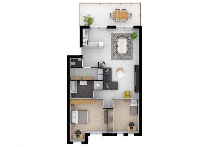 acheter appartement 4 pièces 97 m² thionville photo 3