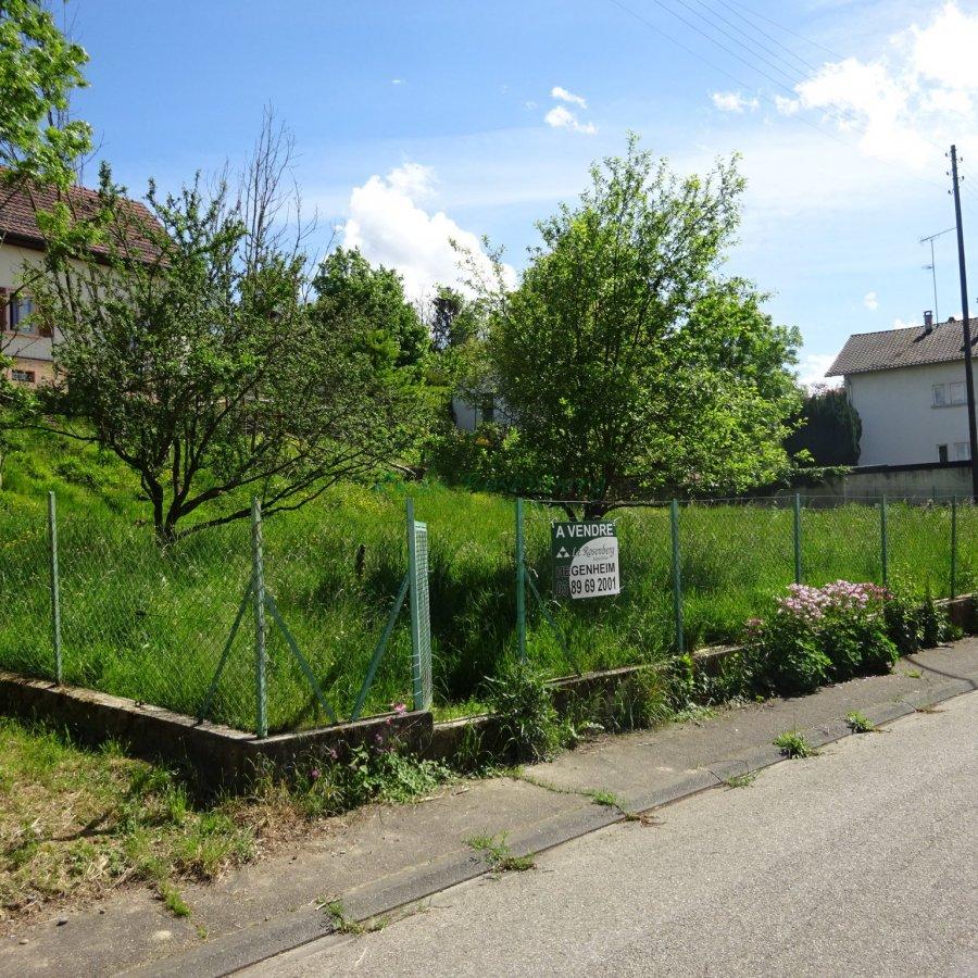 Terrain constructible à vendre à Buschwiller