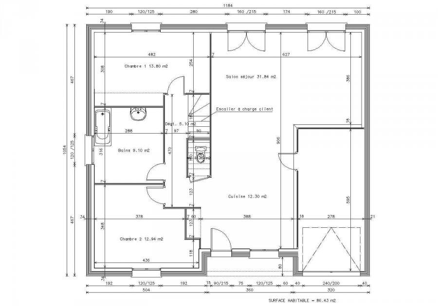 acheter maison 5 pièces 130 m² dieulouard photo 2