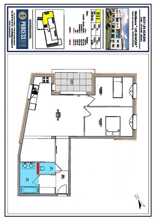 acheter appartement 3 pièces 72.9 m² cattenom photo 1