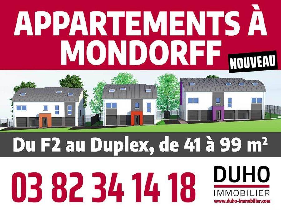 Appartement à vendre F3 à Mondorff