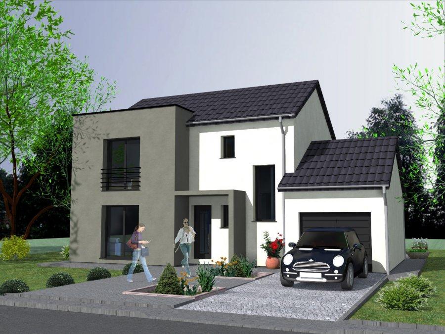 Maison individuelle en vente oeting 90 m 232 000 for Acheter une maison en lotissement