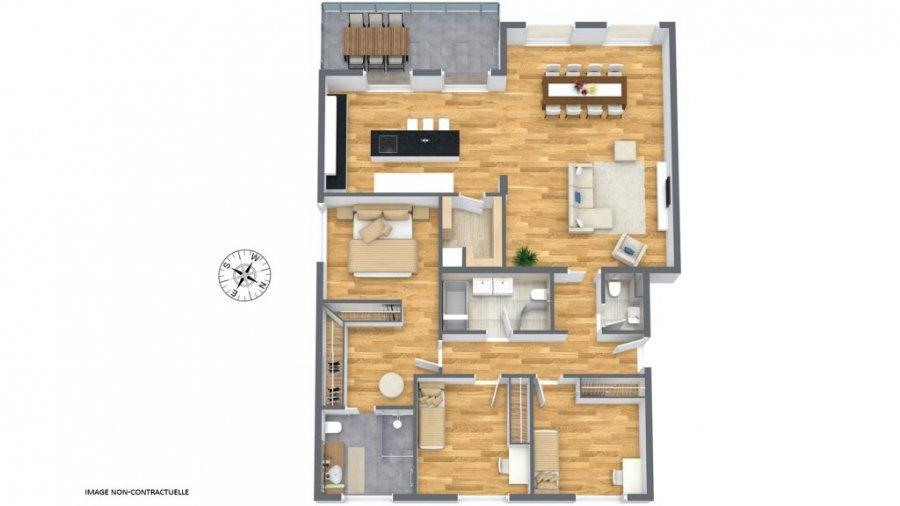 wohnung kaufen 3 schlafzimmer 132.49 m² junglinster foto 2