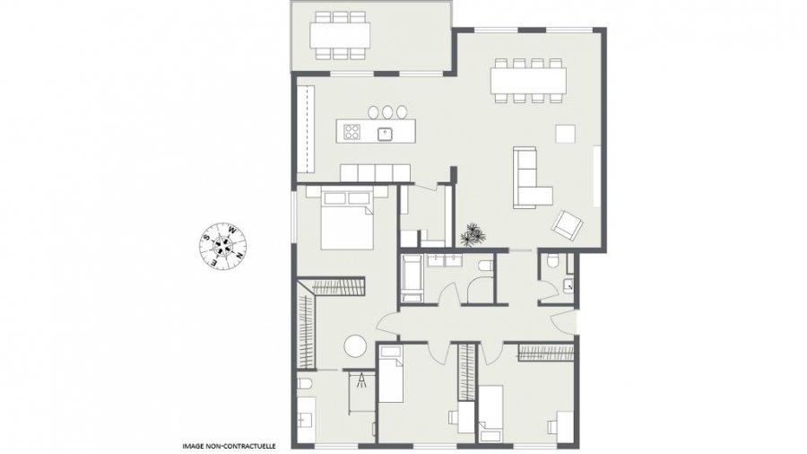 wohnung kaufen 3 schlafzimmer 132.49 m² junglinster foto 4