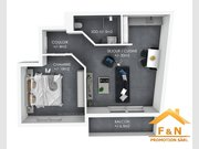 Appartement à louer 1 Chambre à Tetange - Réf. 6222252