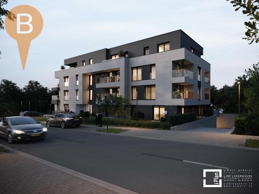 acheter appartement 1 chambre 54.99 m² luxembourg photo 3