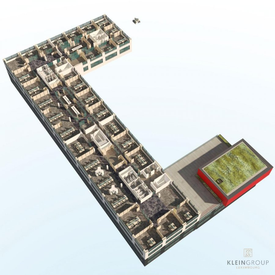 louer bureau 0 chambre 300 m² windhof (koerich) photo 7