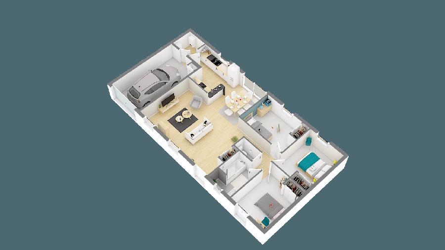 acheter maison 4 pièces 81 m² saint-père-en-retz photo 7