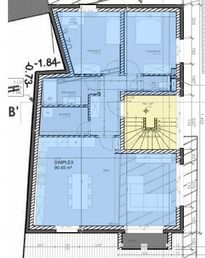 wohnung kaufen 2 schlafzimmer 90.45 m² wiltz foto 3