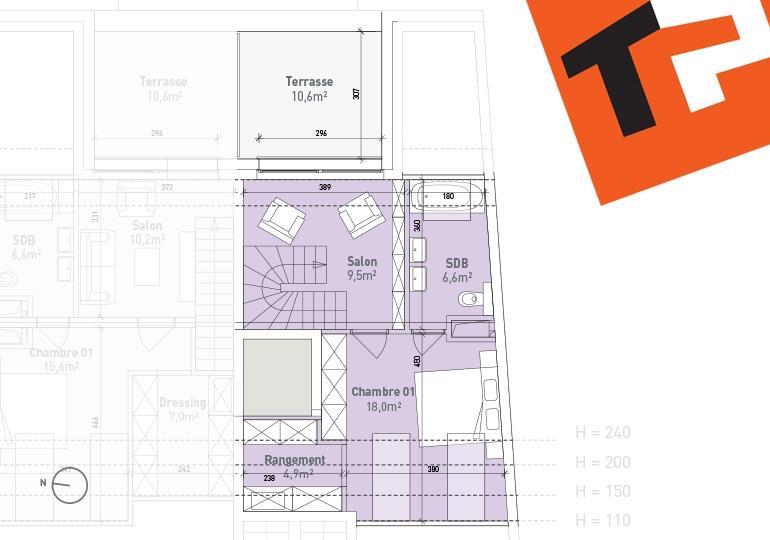 maisonette kaufen 2 schlafzimmer 98.44 m² bertrange foto 4