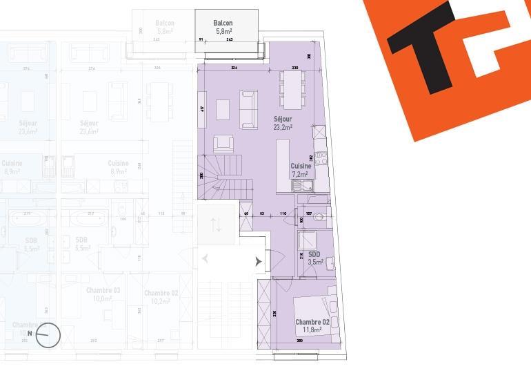 maisonette kaufen 2 schlafzimmer 98.44 m² bertrange foto 3