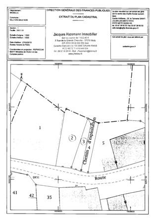 Terrain constructible à vendre à Silly-en-saulnois