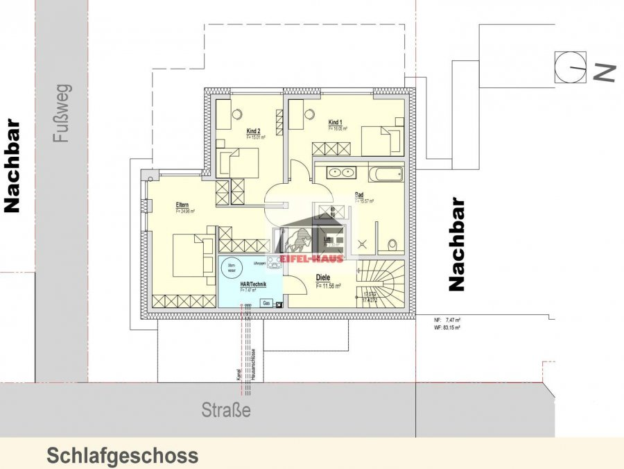 acheter maison 4 chambres 214.91 m² wasserbillig photo 5