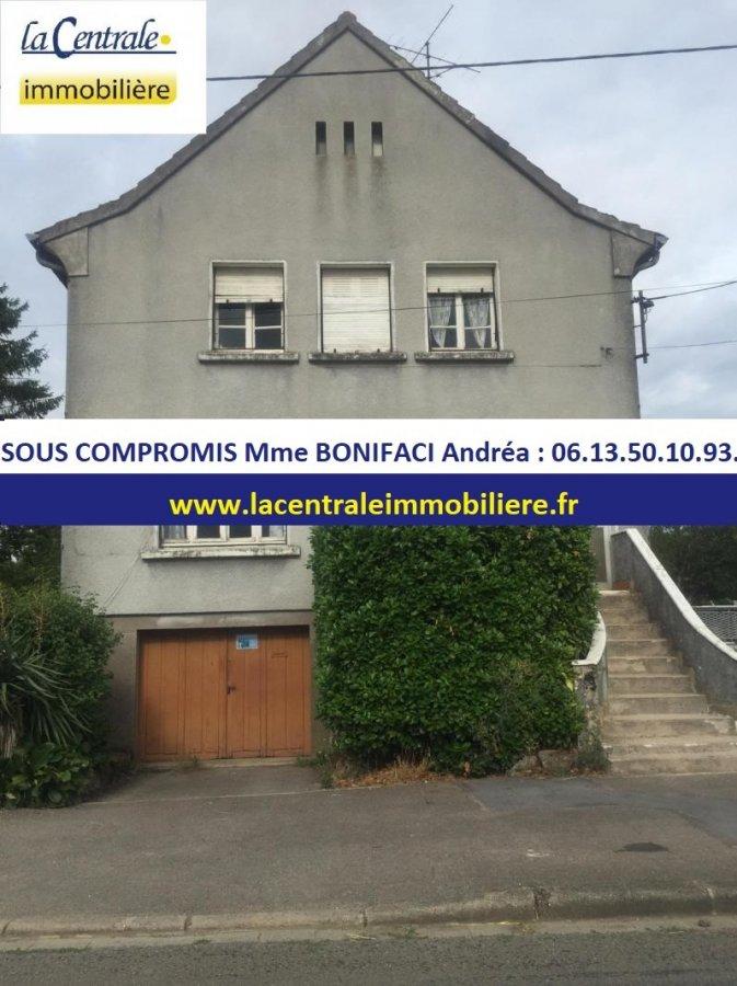 Maison mitoyenne à vendre F2 à Mont-Bonvillers