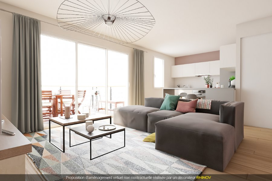 acheter appartement 2 pièces 42.23 m² vantoux photo 1