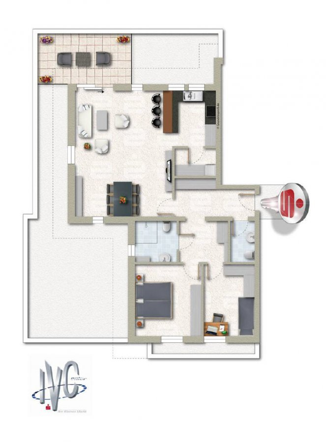 apartment for buy 3 rooms 100 m² überherrn photo 1