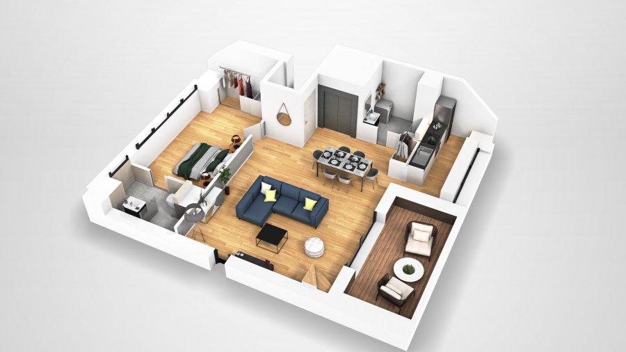 Penthouse à vendre 3 chambres à Luxembourg-Cessange