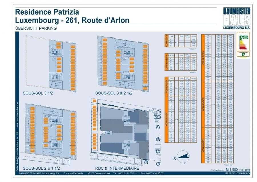 acheter penthouse 0 chambre 42.03 m² luxembourg photo 5