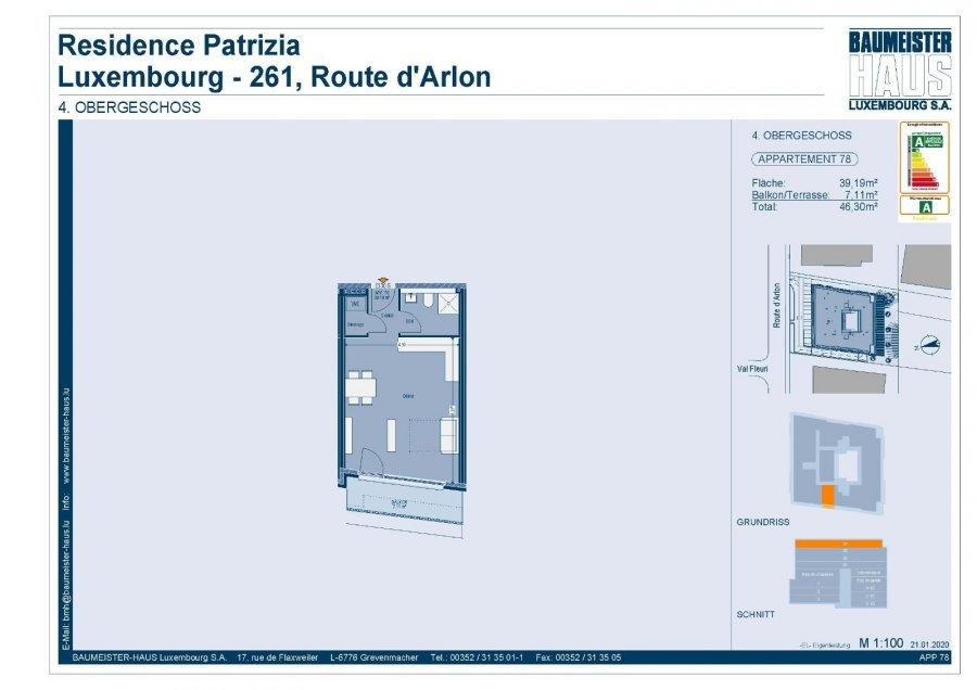 acheter penthouse 0 chambre 42.03 m² luxembourg photo 7