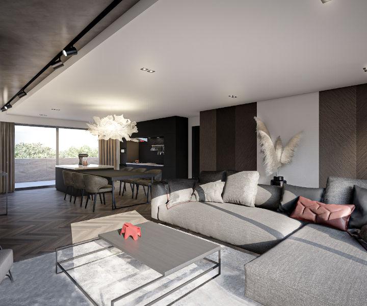 wohnung kaufen 1 schlafzimmer 63.65 m² mamer foto 4