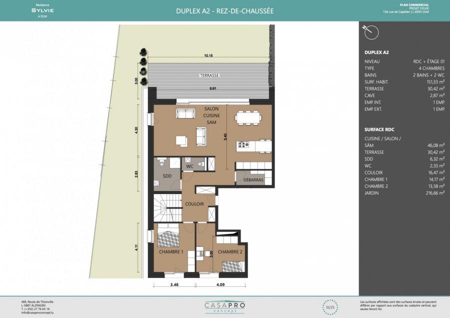 acheter appartement 4 chambres 151 m² capellen photo 5