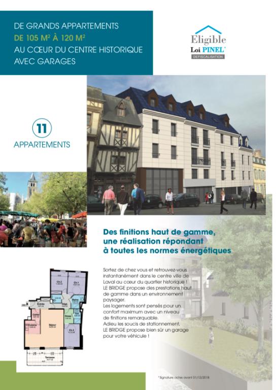 acheter appartement 3 pièces 70 m² laval photo 5
