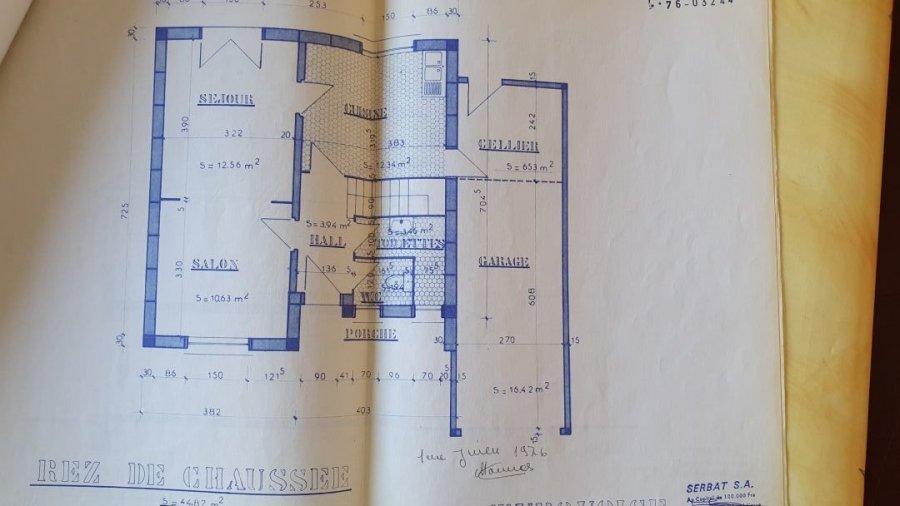 Maison à vendre 3 chambres à Villerupt