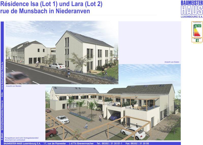 apartment for buy 3 bedrooms 115.19 m² niederanven photo 1