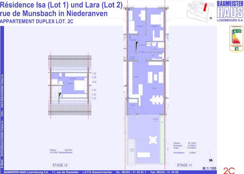 apartment for buy 3 bedrooms 115.19 m² niederanven photo 4