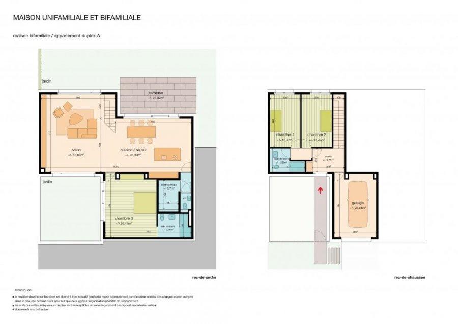 acheter duplex 3 chambres 172.61 m² schuttrange photo 2