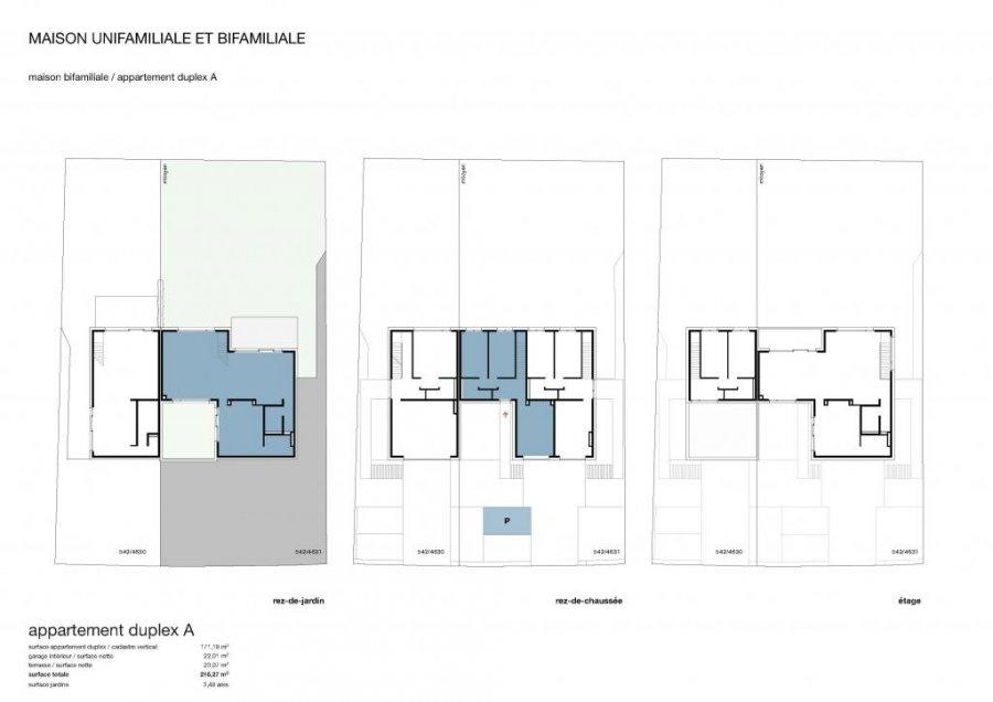 acheter duplex 3 chambres 172.61 m² schuttrange photo 3