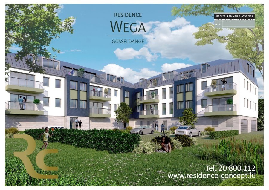 acheter appartement 3 chambres 123.6 m² gosseldange photo 1