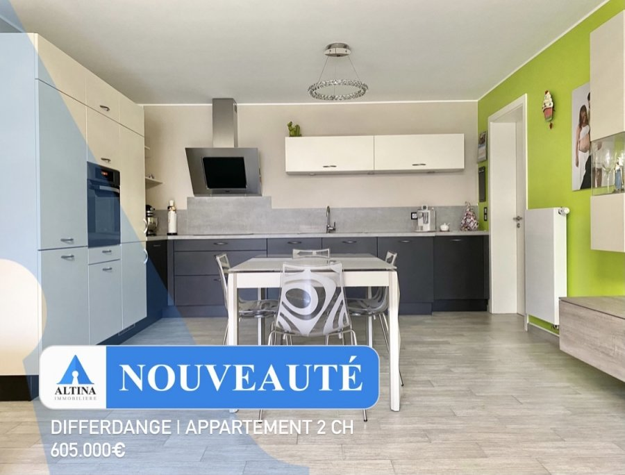 acheter appartement 2 chambres 75 m² differdange photo 1