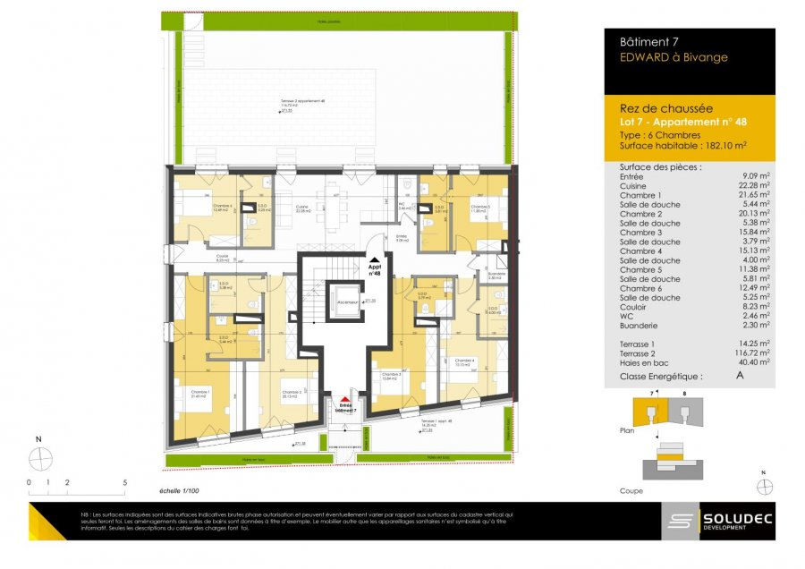 wohnung kaufen 6 schlafzimmer 183.62 m² berchem foto 1