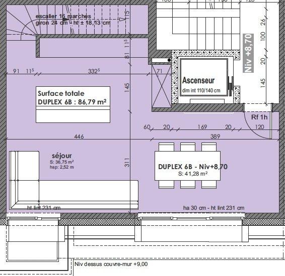 Duplex à vendre 3 chambres à Pétange
