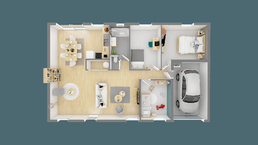 acheter maison 5 pièces 84 m² pornic photo 1