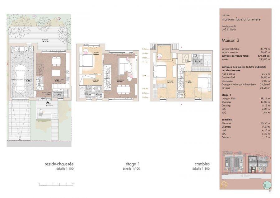 doppelhaushälfte kaufen 3 schlafzimmer 171.86 m² bech foto 7