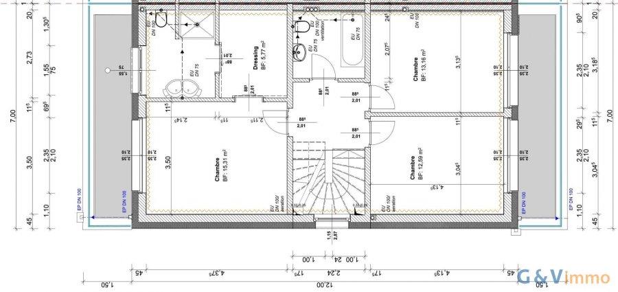 acheter maison jumelée 3 chambres 190 m² echternach photo 6