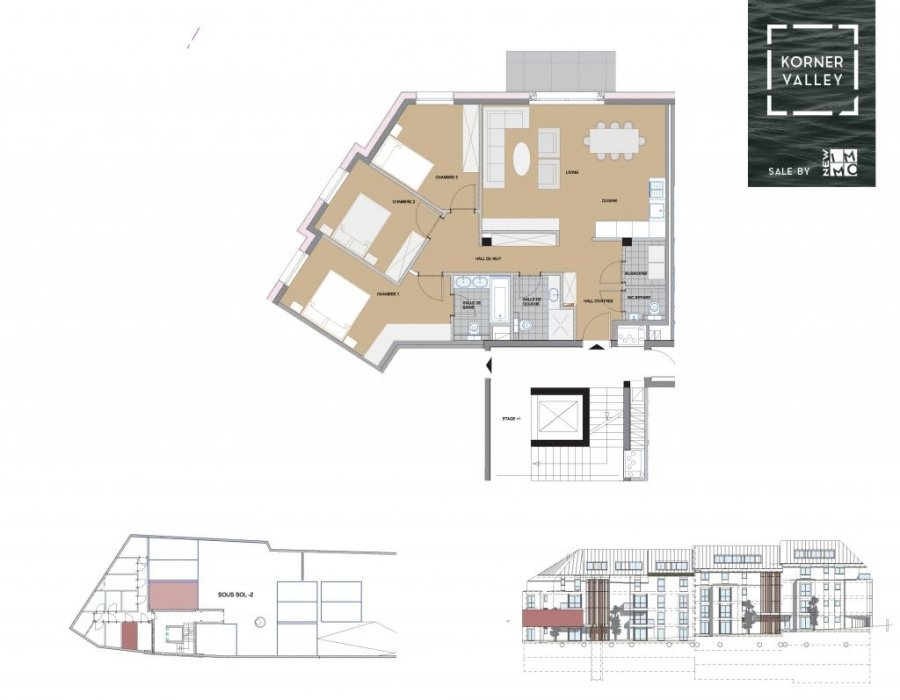 apartment for buy 3 bedrooms 105.36 m² luxembourg photo 4