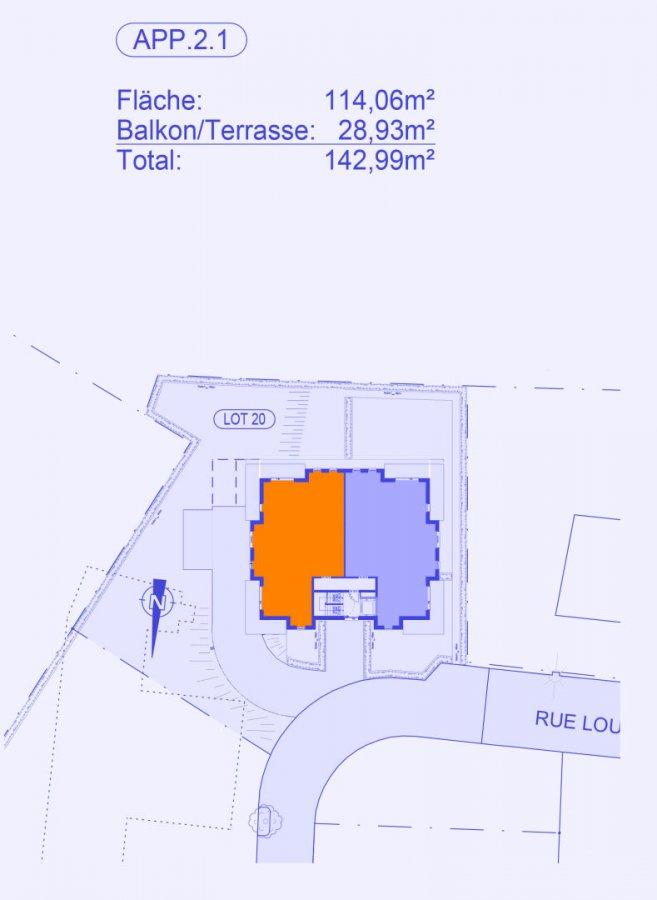 acheter appartement 3 chambres 124.74 m² strassen photo 3