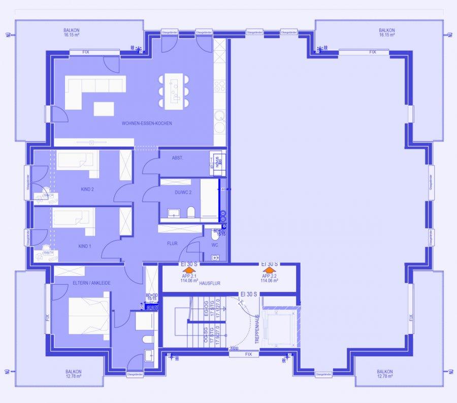 acheter appartement 3 chambres 124.74 m² strassen photo 2