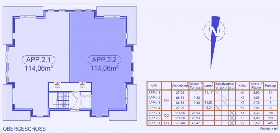 acheter appartement 3 chambres 124.74 m² strassen photo 4
