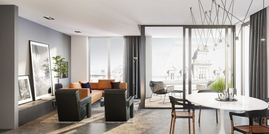 acheter appartement 2 chambres 98.4 m² luxembourg photo 1