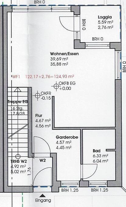 wohnung kaufen 3 zimmer 124.93 m² perl foto 2